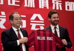A. Villas-Boasas keliasi į Kiniją