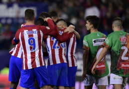 """""""Atletico"""" ir """"Villarreal"""" prasibrovė į kitą Karaliaus taurės etapą"""