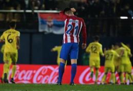 """""""Atletico"""" tolsta nuo čempionų titulo: """"Vilarreal"""" sutriuškino D. Simeone auklėtinius (VIDEO)"""