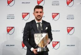 D. Villa tapo naudingiausiu MLS žaidėju