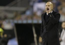 Z. Zidane'as: mums pritrūko sėkmės