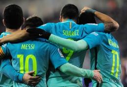 """""""Barca"""" išvykoje sutriuškino """"Eibar"""", """"Atletico"""" prarado taškus Bilbao tvirtovėje (VIDEO)"""
