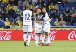 """""""Deportivo"""" išvykoje išplėšė lygiąsias prieš """"Las Palmas"""" (VIDEO)"""