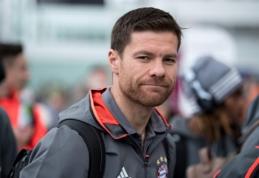 X. Alonso po sezono baigs šlovingą futbolininko karjerą
