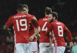 """Anglijos lygos taurės pusfinalyje - užtikrinta """"Man Utd"""" pergalė VIDEO)"""