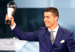 Geriausias FIFA metų futbolininkas - C. Ronaldo (FOTO)