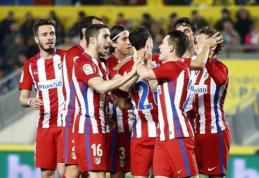 """Karaliaus taurės aštuntfinalyje - """"Atletico"""" ir """"Celta"""" ekipų pergalės (VIDEO)"""