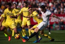 "Ispanijoje - ""Sevilla"" ir ""Villarreal"" klubų lygiosios (VIDEO)"