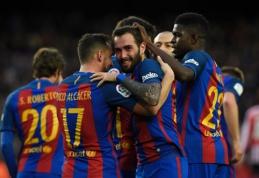 """Barca"" namuose nugalėjo Bilbao ekipą, ""Atletico"" - ""Leganes"" (VIDEO)"