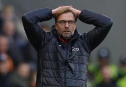 """""""Liverpool"""" pasiekė dugną - krito ir prieš """"Hull City"""", R. Lukaku išsiskyrė """"pokeriu"""" (VIDEO)"""