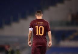L. Spalletti: Totti yra futbolo Muhammadas Ali
