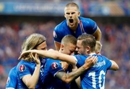 Islandijoje raškomi istorinės pergalės prieš anglus vaisiai