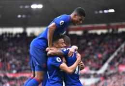 """Anglijoje - """"Man Utd"""" ir """"Tottenham"""" pergalės (VIDEO)"""