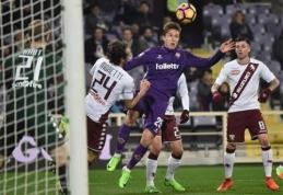"""""""Fiorentina"""" statys naują stadioną, """"Milan"""" skirta bauda (FOTO)"""