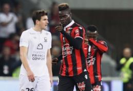 """""""Nice"""" net atsitiesęs prarado taškus, """"Marseille"""" sutriuškino """"Angers"""" (VIDEO)"""