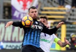 """""""Atalanta"""" ir """"Juventus"""" prarado taškus, """"Inter"""" bei """"Lazio"""" įveikė varžovus (VIDEO)"""