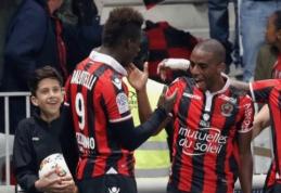 """Ligue 1: """"Marseille"""" priartėjo prie """"Bordeaux"""", o """"Nice"""" beveik sudaužė PSG viltis apginti titulą (VIDEO)"""