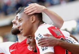 """Prancūzijoje pergales šventė """"Monaco"""" ir """"Saint-Etienne"""" (VIDEO)"""