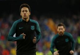 "Neymaras ""Barcelona"" klubo vasarą nepaliks"