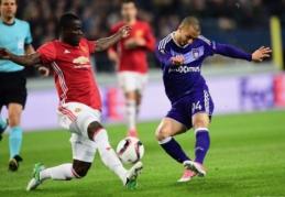 """EL ketvirtfinaliai: Belgijoje - """"Man United"""" lygiosios, Prancūzijoje - riaušės ir """"Lyon"""" pergalė (FOTO, VIDEO)"""