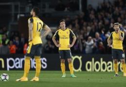 """Visiškas krachas: """"Arsenal"""" - pažemintas """"Crystal Palace"""" ekipos (VIDEO)"""