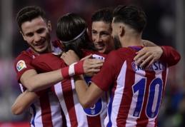 """Ispanijoje - """"Atletico"""", """"Villarreal"""" ir """"Athletic Bilbao"""" klubų pergalės (VIDEO)"""