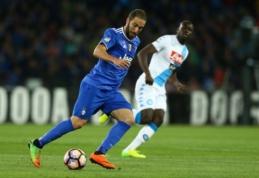 """Serie A: """"Milan"""" prarado taškus, """"Napoli"""" ir """"Juventus"""" sužaidė lygiosiomis (FOTO, VIDEO)"""