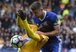"""""""Chelsea"""" patyrė netikėtą pralaimėjimą namuose, """"Man Utd"""" nepajėgė nugalėti """"West Brom"""" (VIDEO)"""