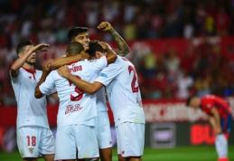 """""""Sevilla"""" sezoną Ispanijoje užbaigė varžovų pažeminimu (VIDEO)"""