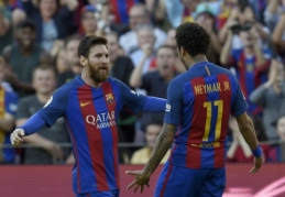 "Neymaras: ""Barca"" privalo pratęsti sutartį su Messi"