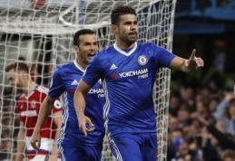 """Iki titulo - vienas žingsnis: """"Chelsea"""" namuose sudorojo """"Middlesbrough"""" (VIDEO)"""