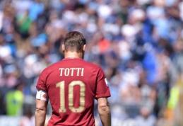 "Oficialu: ""Roma"" simbolis F. Totti po sezono baigs futbolininko karjerą"