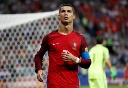 Apie savo dvynių gimimą patvirtinęs C. Ronaldo Konfederacijų taurėje nebežais