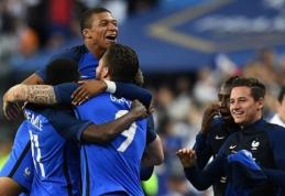 Prancūzai palaužė anglus, argentiniečiai ir brazilai sutriuškino savo varžovus (VIDEO)