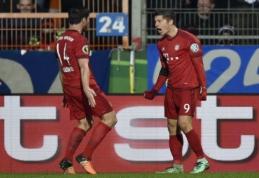 """""""Bayern"""" pasidalino gražiausiais sezono įvarčiais (VIDEO)"""