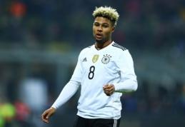 """Oficialu: """"Bayern"""" sukirto rankomis su S. Gnabry"""