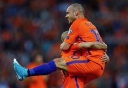 Rekordininku tapęs W. Sneijderis: turėjau daug paaukoti