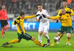 Slovakijos spauda: įprastoje penktoje vietoje esantys lietuviai žaidžia kaimo lygio stadione