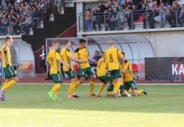 Lietuvos U-21 rinktinė Europos čempionato atranką pradėjo triuškinančia pergale (VIDEO)