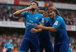"""Draugiškose rungtynėse """"Arsenal"""" ir """"Liverpool"""" sudaužė pajėgius varžovus (VIDEO)"""