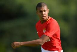 """""""Monaco"""" paneigė kalbas apie K. Mbappe susitarimą su """"Real"""""""
