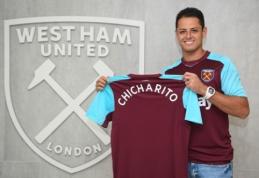 """Oficialu: Chicharito vilkės """"West Ham"""" klubo marškinėlius"""