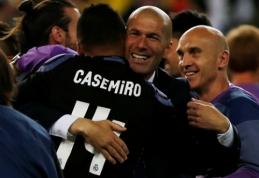 Casemiro: nedrįsdavau kalbėtis su Z. Zidane'u