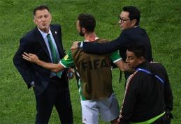Meksikos treneriui - griežta FIFA bausmė