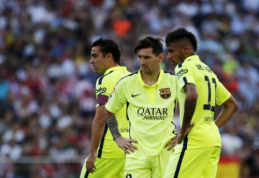"""Neymaras: atvykęs į """"Barcelona"""" jaučiausi kaip kompiuteriniame žaidime"""