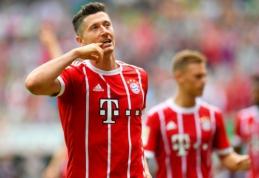 """R. Lewandowskis per kelias minutes """"nukalė"""" """"Bayern"""" pergalę Vokietijoje (VIDEO)"""