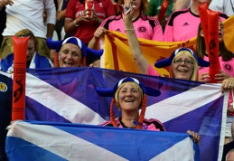 Škotų sirgaliai užpildys beveik pusę LFF stadiono