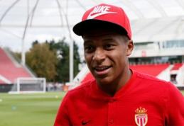 K.Mbappe pagaliau suderino kontraktą su PSG