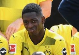 """""""Borussia"""" atmetė """"Barcos"""" pasiūlymą už O. Dembele"""
