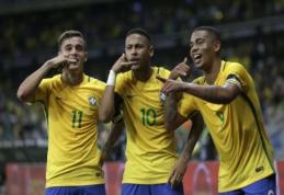 FIFA reitingai: Brazilija išstūmė Vokietiją iš pirmos vietos
